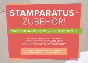 zusatzprodukte für den Stamperatus von Stampin`Up!
