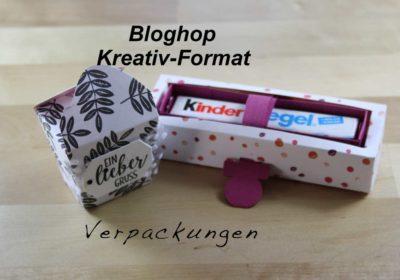 Schnelle Big Shop Mini-Verpackung mit Stampin`Up! Produkten