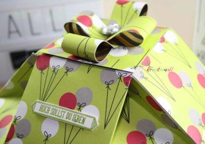 Lieblingsverpackung für Gummibaren mit Geldscheinkarte, Stampin' Up! Produkten