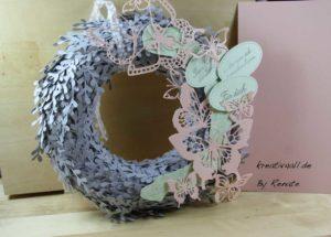 weihnachtswichtel in schiefergrau, lindgrün und Blütenrosa, Stampin´Up! Produkte